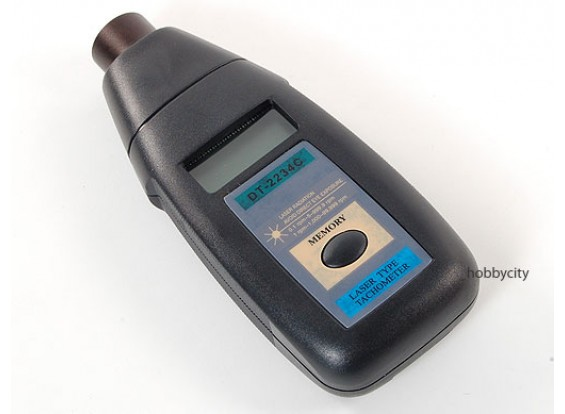 Digital Laser Tachometer (1~99,999rpm)