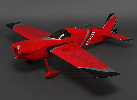 HobbyKing® ™ Edge 540 V3 (Red/Silver) 3D 1200mm (ARF)
