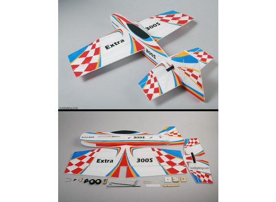 Extra-300S EPP 3D Air Plane Model (Unbreakable)