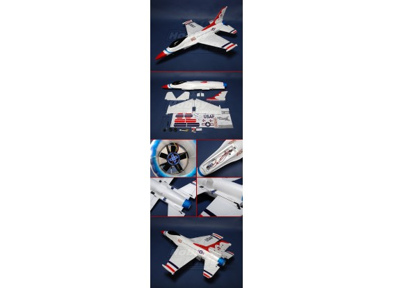 F-16 Fighter R/C jet EPO Plug-n-Fly