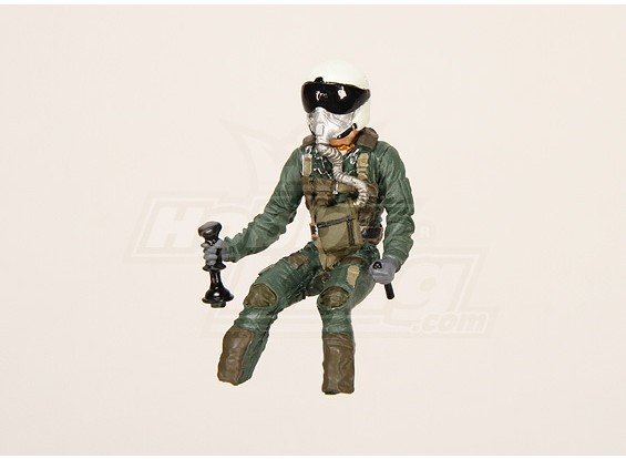 UltraDetail Scale Jet Pilot Model (66x37x31mm)
