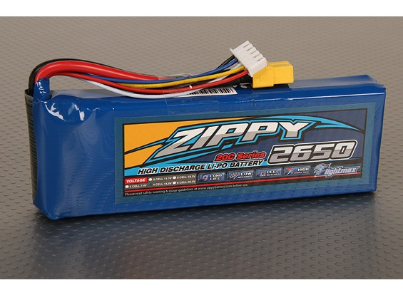 ZIPPY Flightmax 2650mAh 4S1P 20C