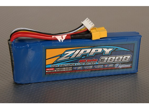 ZIPPY Flightmax 3000mAh 3S1P 20C