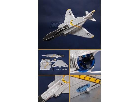 Mini F4 Jet EPP Kit with EDF and brushless motor.