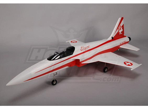 F5E Tiger EDF Jet Plug-n-Fly w/ Retracts & Brushless System