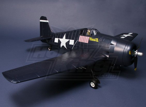 HK F6F Hellcat EPO WWII Fighter (Includes MOTOR/ESC/SERVO)