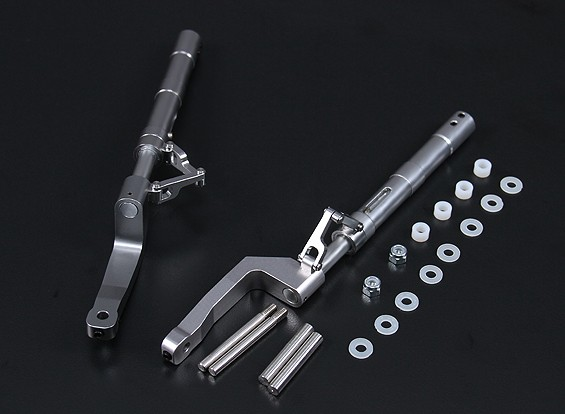 Alloy Oleo Legs Offset F8F Style 168mm 2pc