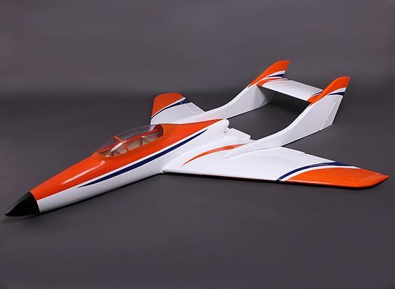 Falcon 120 Fiber Glass Pusher Jet for Glow 1.20 Engine 1600mm w/flaps (ARF)