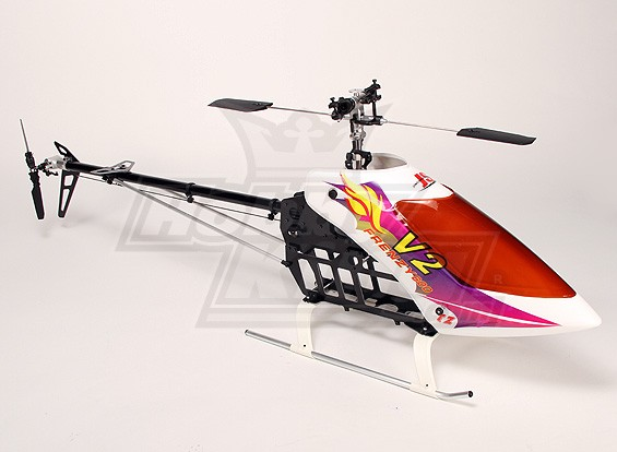 Frenzy 600TT V2 EP 3D Helicopter Kit (Torque Tube)