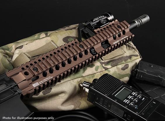 MADBULL Daniel Defense Licensed 7 inch OmegaX Rail FSP (Black)