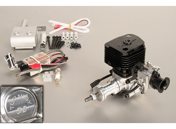 Turnigy 30cc Gas engine w/ CDI Electronic Ignition and Genuine Walbro Carburetor