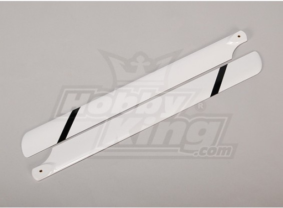 500 Size Fiberglass helicopter blades 430mm