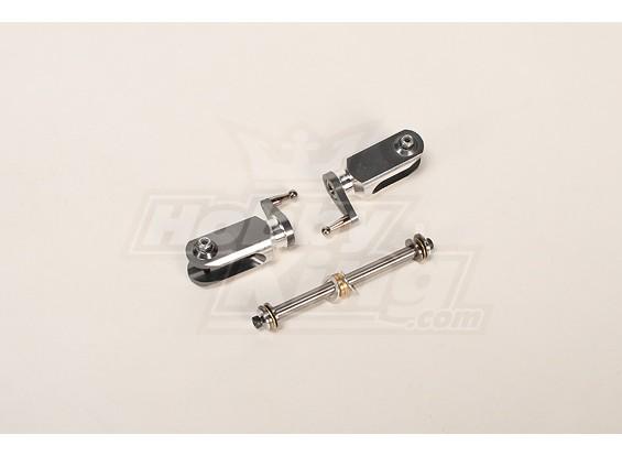 HK-500GT Metal Main Rotor Grip Set (Align part # H50005)
