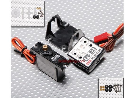 GWS Naro Super 19g Digital Servo/JR & Gyro