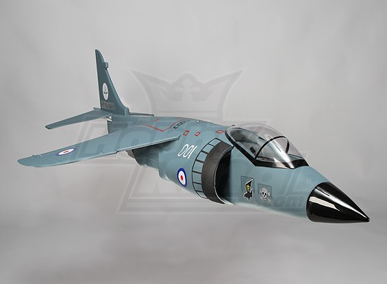 Harrier 70mm EDF Jet - 780mm (PNF)