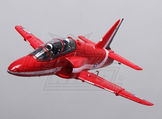 Red Arrows Hawk 35mm EDF Micro Jet EPO (PNF)