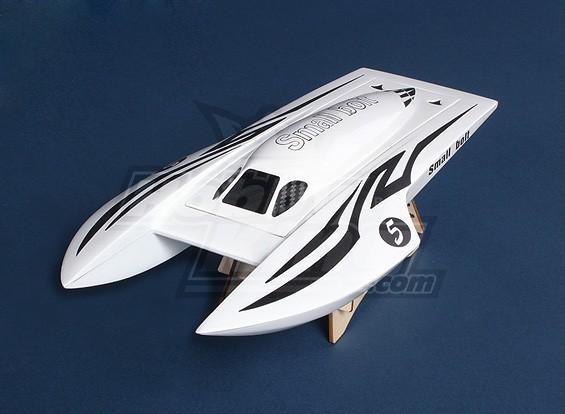 Small Bolt Twin-Hull Boat (385mm) Fiberglass Hull Only