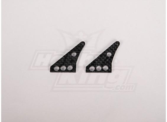 Carbon Fiber Control Horn 32x24mm (2pcs/bag)