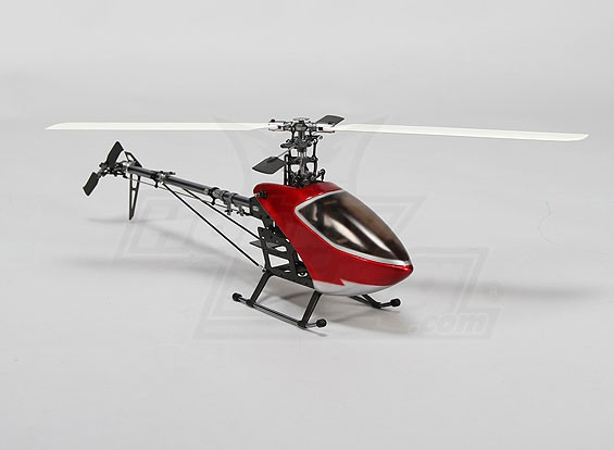 HK-250GT Electric Helicopter Kit (Alloy/CF w/ Blades)