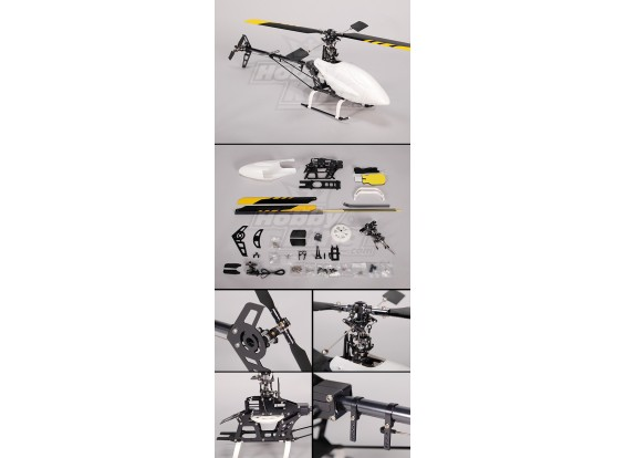 HK-450MT CCPM 3D Fully Alloy Helicopter Kit (Align T-Rex Compat.)