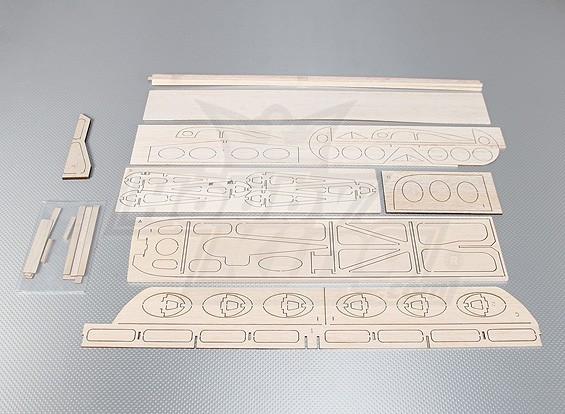 HobbyKing® ™ Mini-3D GeeBee Laser Cut Kit 600mm (KIT)