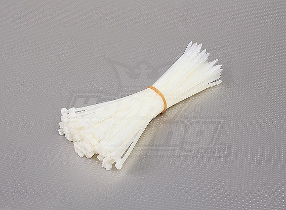 Cable Ties HS4.8x250mm 100pc (Natural White)