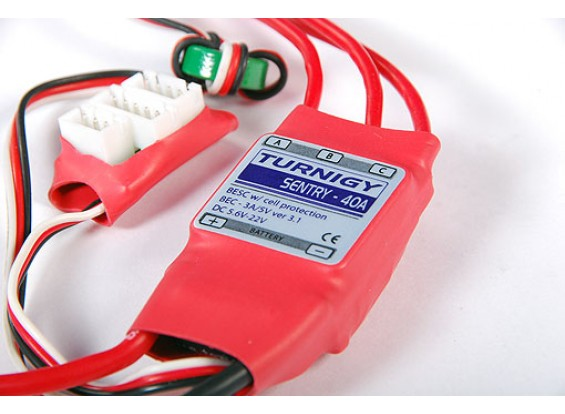 TURNIGY Sentry 40amp Speed Controller