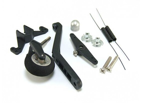 Tail Wheel System. w/ Steering & Spring 40-90 Size
