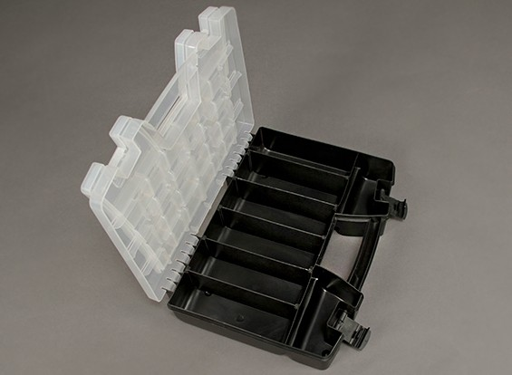 Plastic Multi-purpose Organizer 2 Tray 34 Compartment