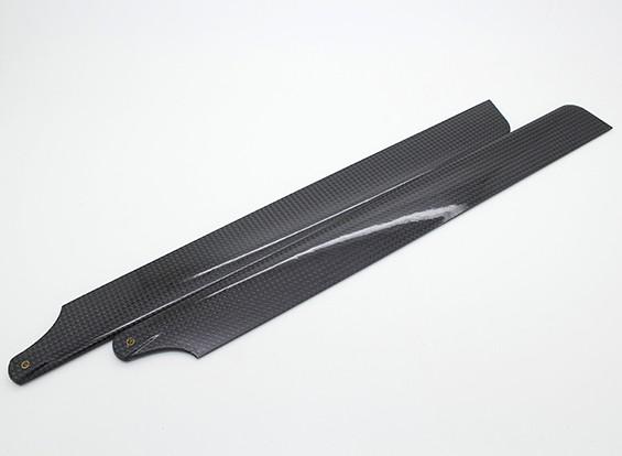 Assault 450 DFC - 325mm Carbon Fibre Main Blade (1pair)