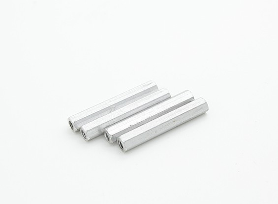 Assault 450 DFC - Tail Boom Block Hex Studs (4pcs)