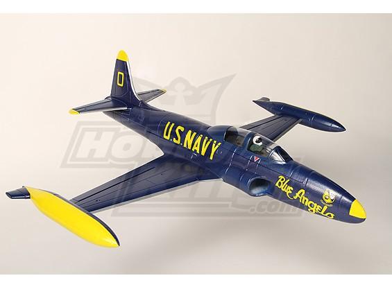 Mini T-33 Blue Angels EDF Fighter Jet EPO Plug-n-Fly