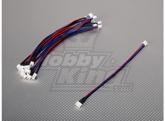 JST-XH 2S Wire Extension 20cm (10pcs/bag)