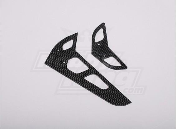 HK-500GT Carbon Fiber Horizontal/Vertical Tail Fin (Align part # H50031)
