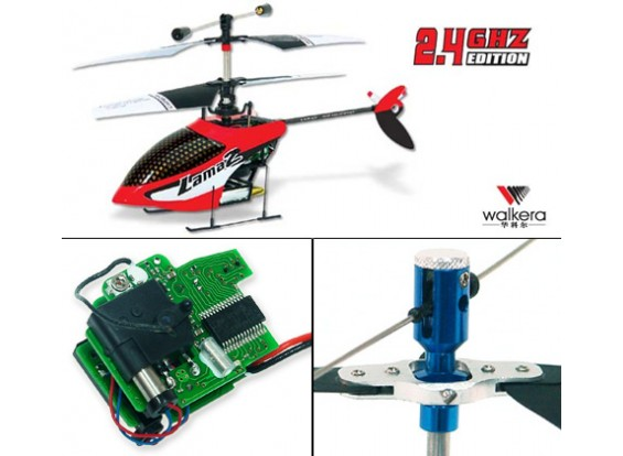 Walkera Lama2-1 Coaxial Helicopter w/ Metal Rotor Head B&F