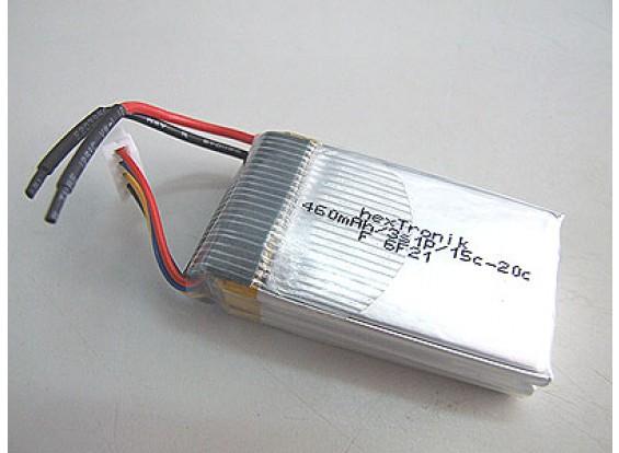 hexTronik 460mAh 11.1v 15C Lipo Pack