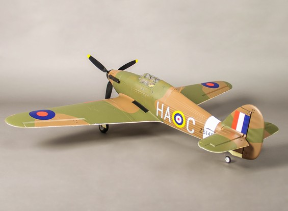 Hawker Hurricane Mk IIB Tropical EPO 1000mm (PNF)