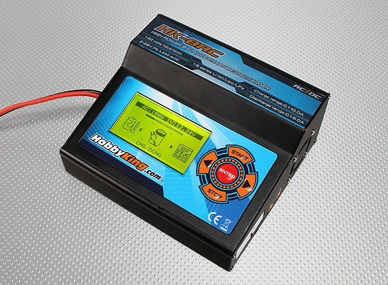 HobbyKing 8AC Large Screen AC/DC Balancer Charger