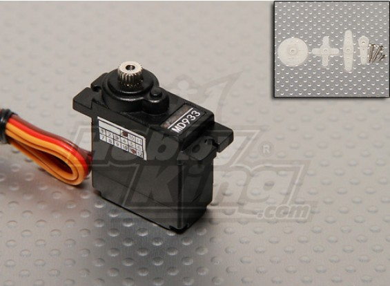 D933MG Digital Metal Gear Servo 2.0kg/ 12g/ 0.10sec