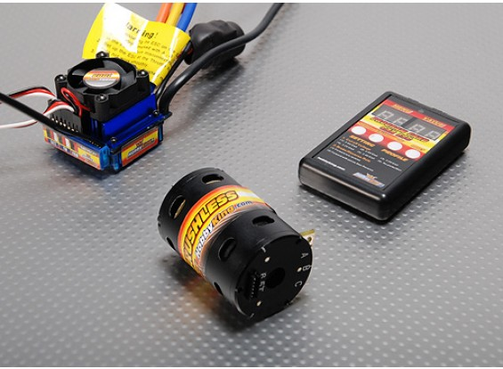 Brushless Car Power System 4000Kv/100A (11T)