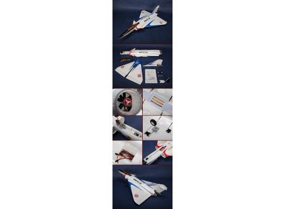 Mirage 4000 Fighter w/ Brushless EDF & Retracts Plug-n-Fly