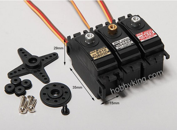 MKS DS9670 Precise Digital Servo 2.22kg/.09sec/27g