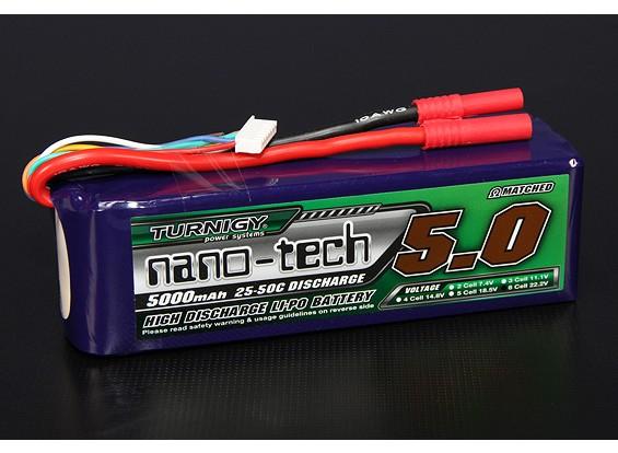 Turnigy nano-tech 5000mah 6S 25~50C Lipo Pack