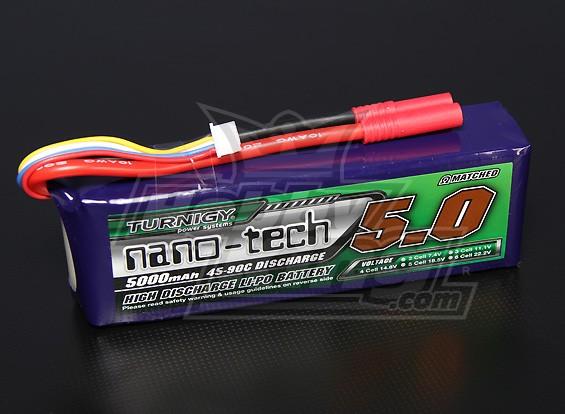 Turnigy nano-tech 5000mah 4S 45~90C Lipo Pack
