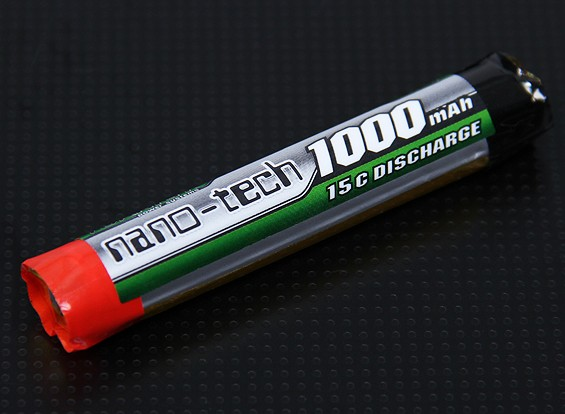 Turnigy nano-tech 1000mah 1S 15C Round Cell