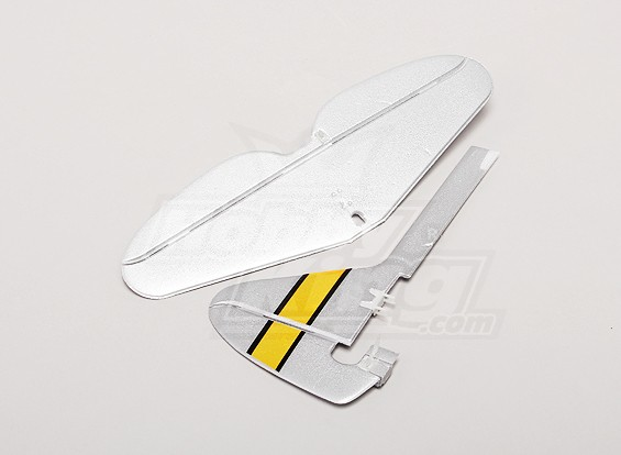 P-47 Ultra Micro - Replacement Vertical Tail and Horizonal Tail Set