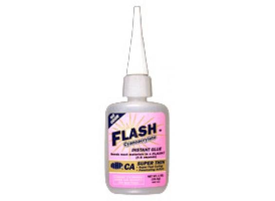 NHP 411 Flash Thin Foam Safe 1oz Cyanoacrylate