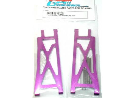 Alloy Rear Lower Arms with Pins &Delrin & Alloy collars