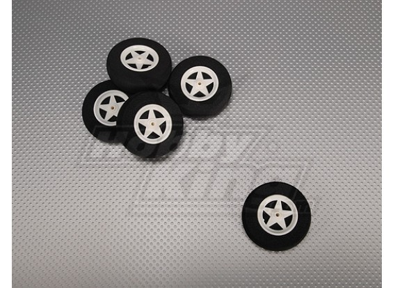 5 Spoke Wheel Shock Absorbing D60xH18mm (5pcs/bag)