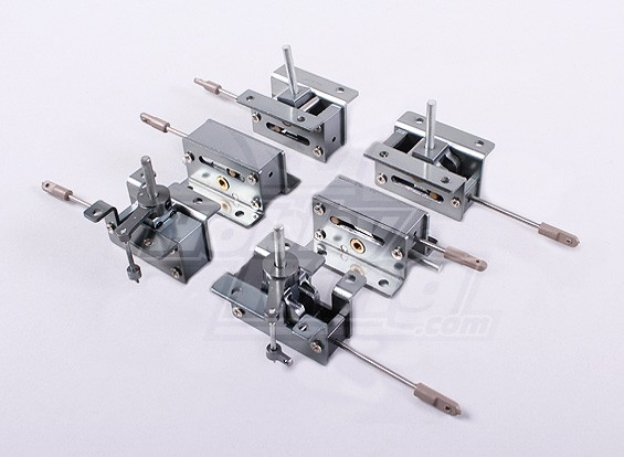 Full Metal Mechanical Retracts 2 sets (6pc)